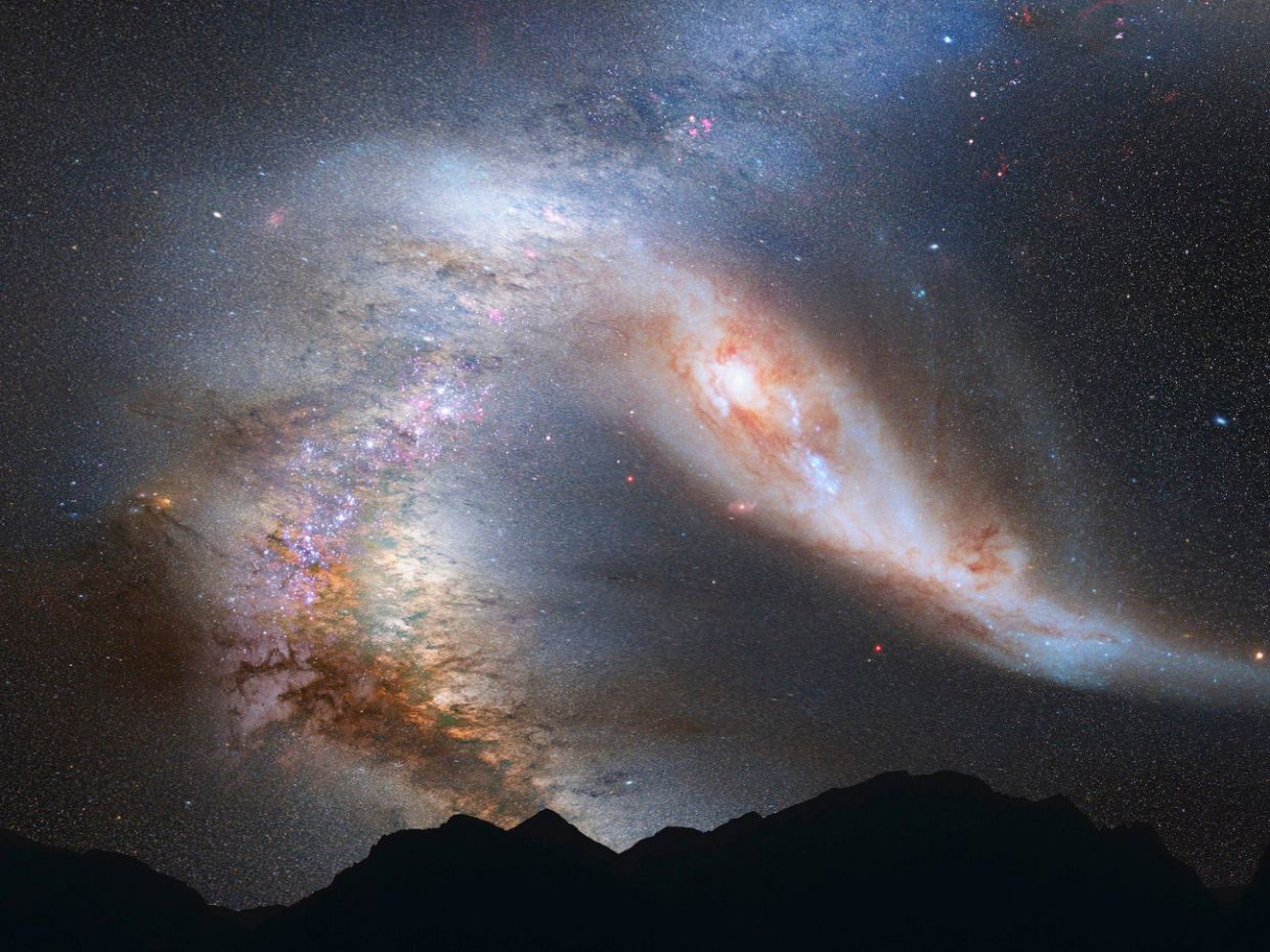 galaxy 4 billion years