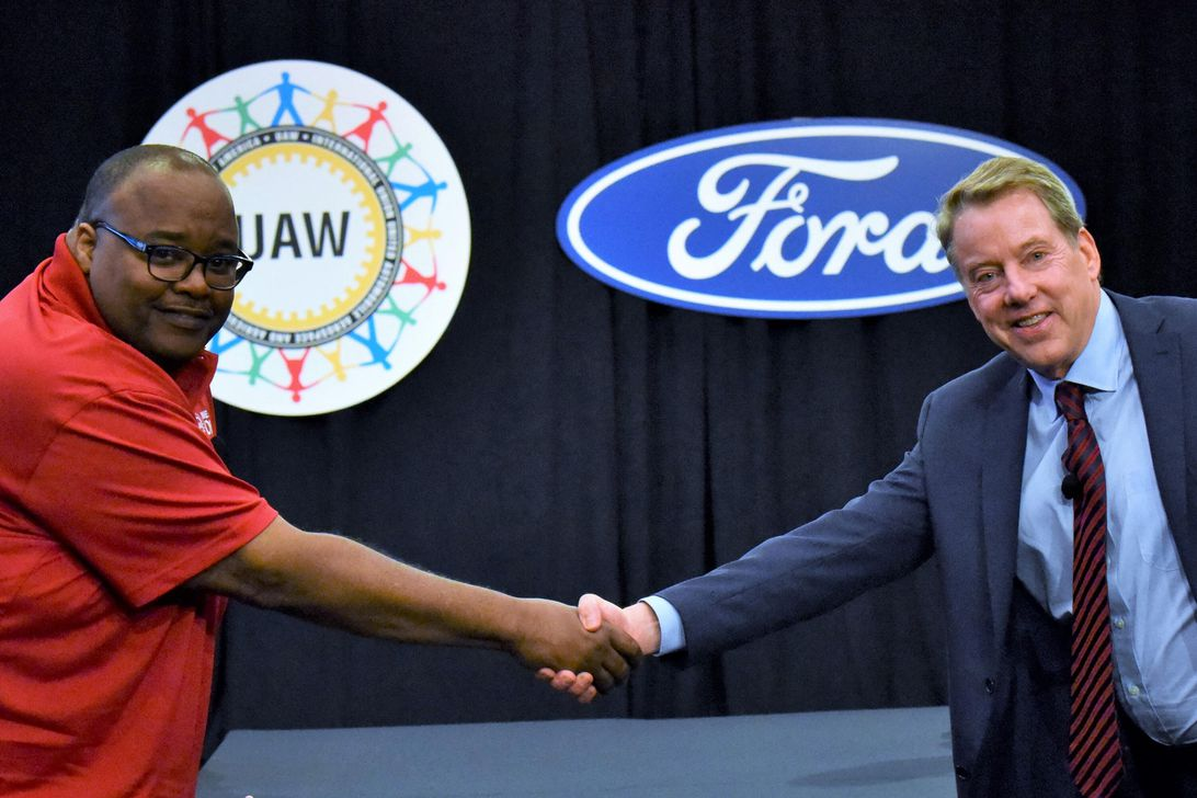 UAW Ford labor negotiations