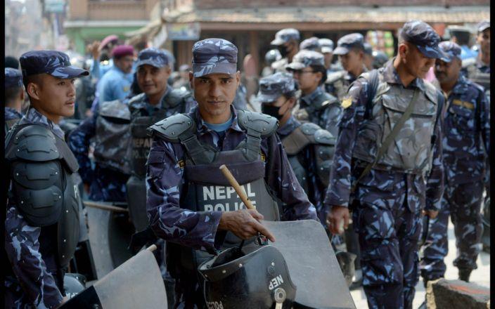 Nepalese police say it is their biggest crackdown on crime by foreigners entering the country on tourist visas - i-Images Picture Agency