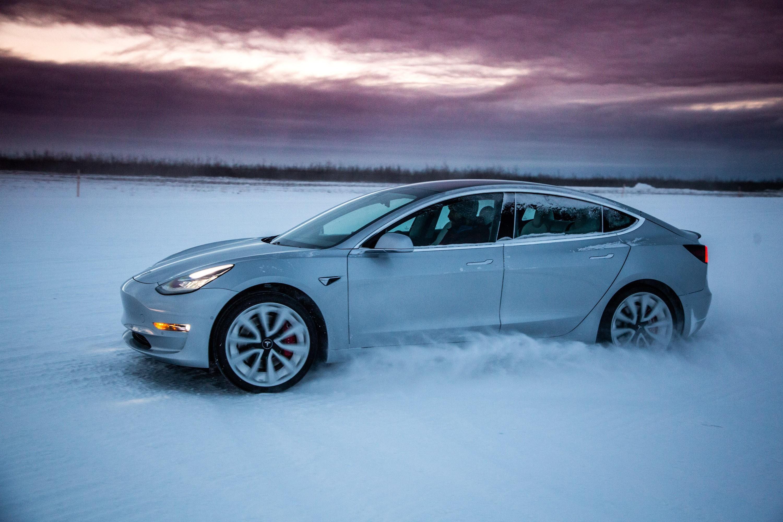 Tesla Alaska Testing Facility