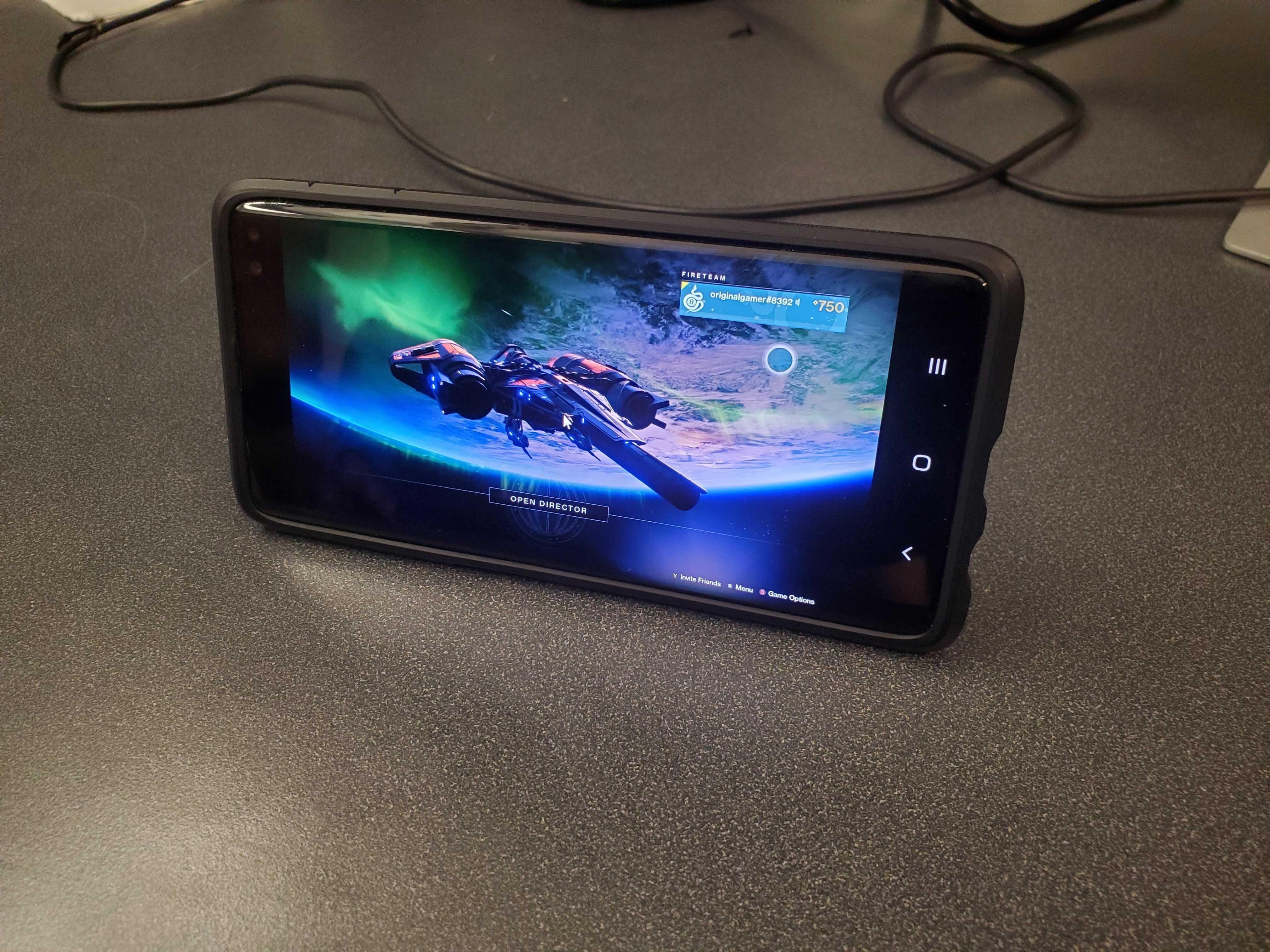 Stadia Galaxy S10