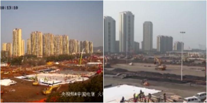 China Hospitals under construction