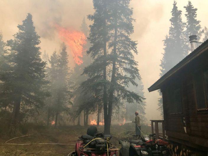 alaska wildfire