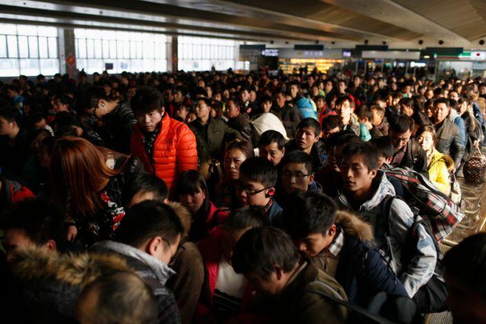 chinese new year commute