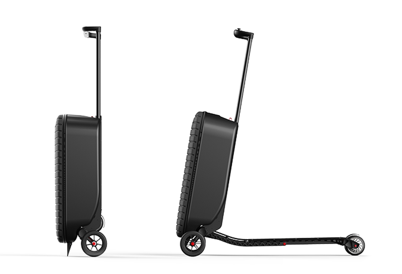 Scoobag - turns into a scooter