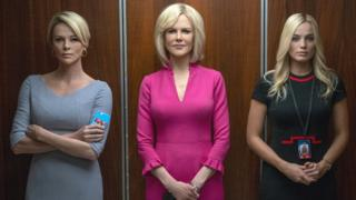 Charlize Theron, Nicole Kidman and Margot Robbie in Bombshell
