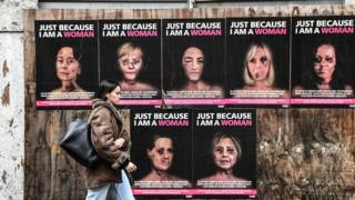 Just because I am a woman - a new series of works by Italian pop artist and activist