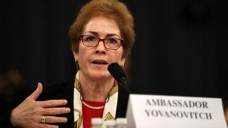 Marie Yovanovitch testifies before the House Intelligence Committee on Capitol Hill November 15, 2019