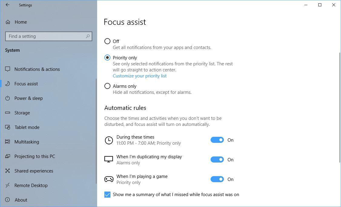 focus-assist