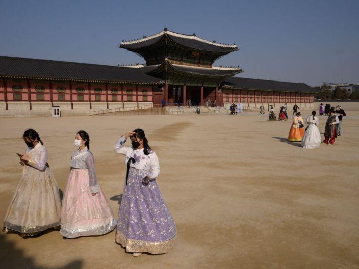 Seoul, South Korea, during coronavirus outbreak