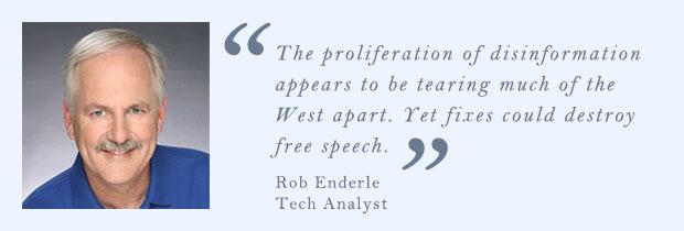 Rob Enderle, Tech Analyst