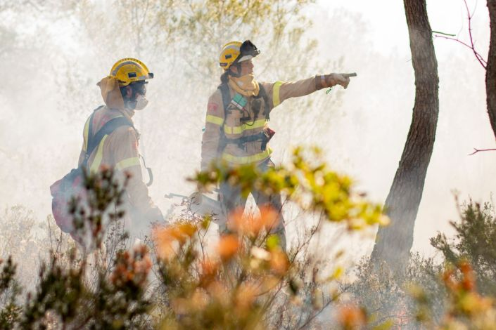 Prometeo, winner of the Call for Code 2019 Global Challenge, field tested their technology during a controlled burn near Barcelona, Spain.