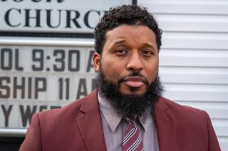 Uzziah Harris was the only person to stand against the resolution at a local meeting