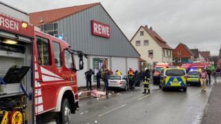 Car incident in Volksmaren