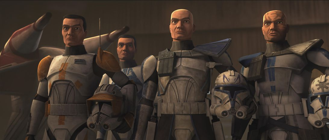 Clone troopers in The Clone Wars