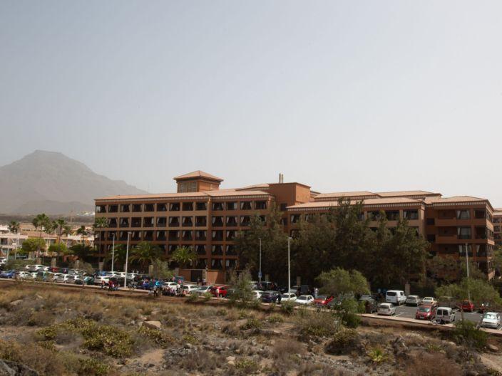Catalonia Hotel, where guests are under quarantine