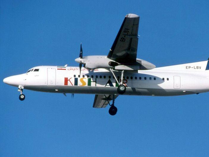 Kish Air Fokker 50