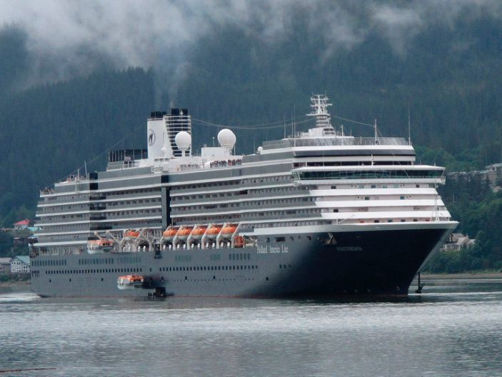 The Westerdam ship.