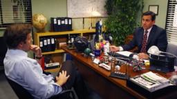 John Krasinski and Steve Carell in 'The Office.' (Trae Patton/NBCU Photo Bank)