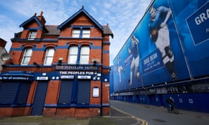 The Winslow adjacent to Goodison Park 'have to take it on the chin and try to recover' after the shutdown that has put pressure on local businesses.
