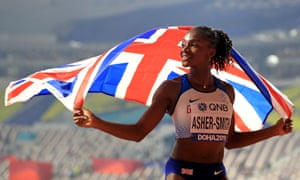 Dina Asher-Smith is one of the athletes to have voiced her frustrations with the IOC