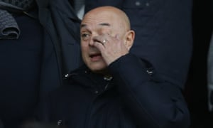 Daniel Levy, pictured in January, said: 'The club's operations have effectively ceased.'
