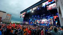 Over 600,000 fans attended the NFL Draft in Nashville, Tennessee last year but all public events have been called off this year due to the spread of coronavirus.