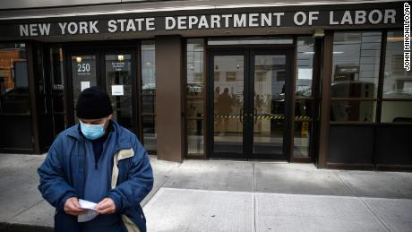 Stimulus bill offers $600 a week to the unemployed for 4 months, drawing Republican objections