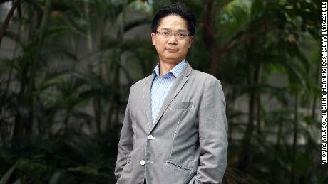 Dr Leo Poon Lit-man on the University of Hong Kong campus in Pok Fu Lam.