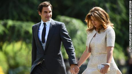 Federer and his wife Mirka announced last week they were donating 1 million Swiss Francs ($1.02 million) to help the most vulnerable families in Switzerland impacted by the coronavirus pandemic.