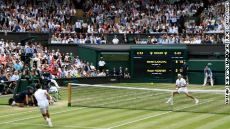 This year's Wimbledon is due to begin June 29.