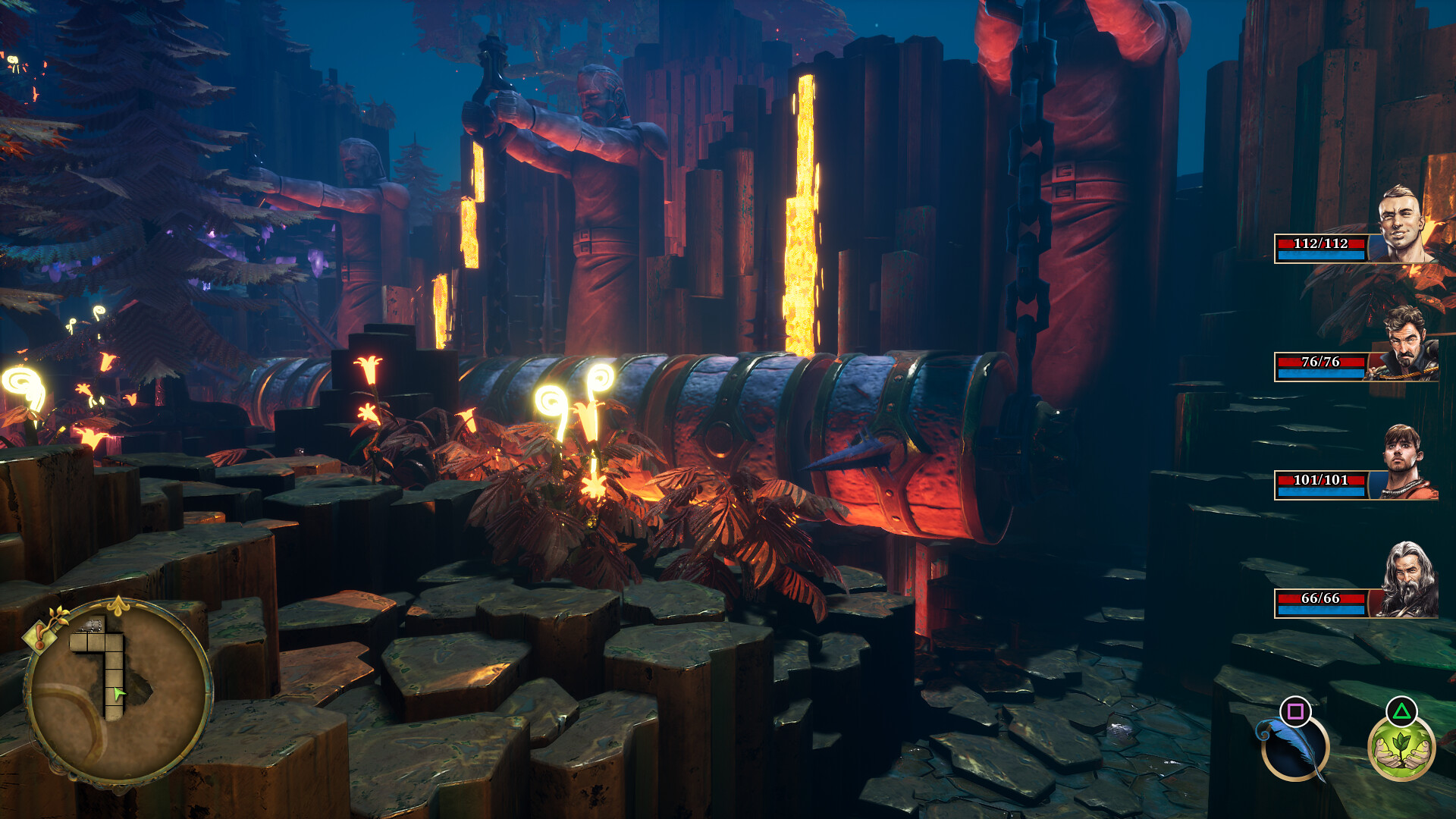 Operencia: The Stolen Sun on PS4