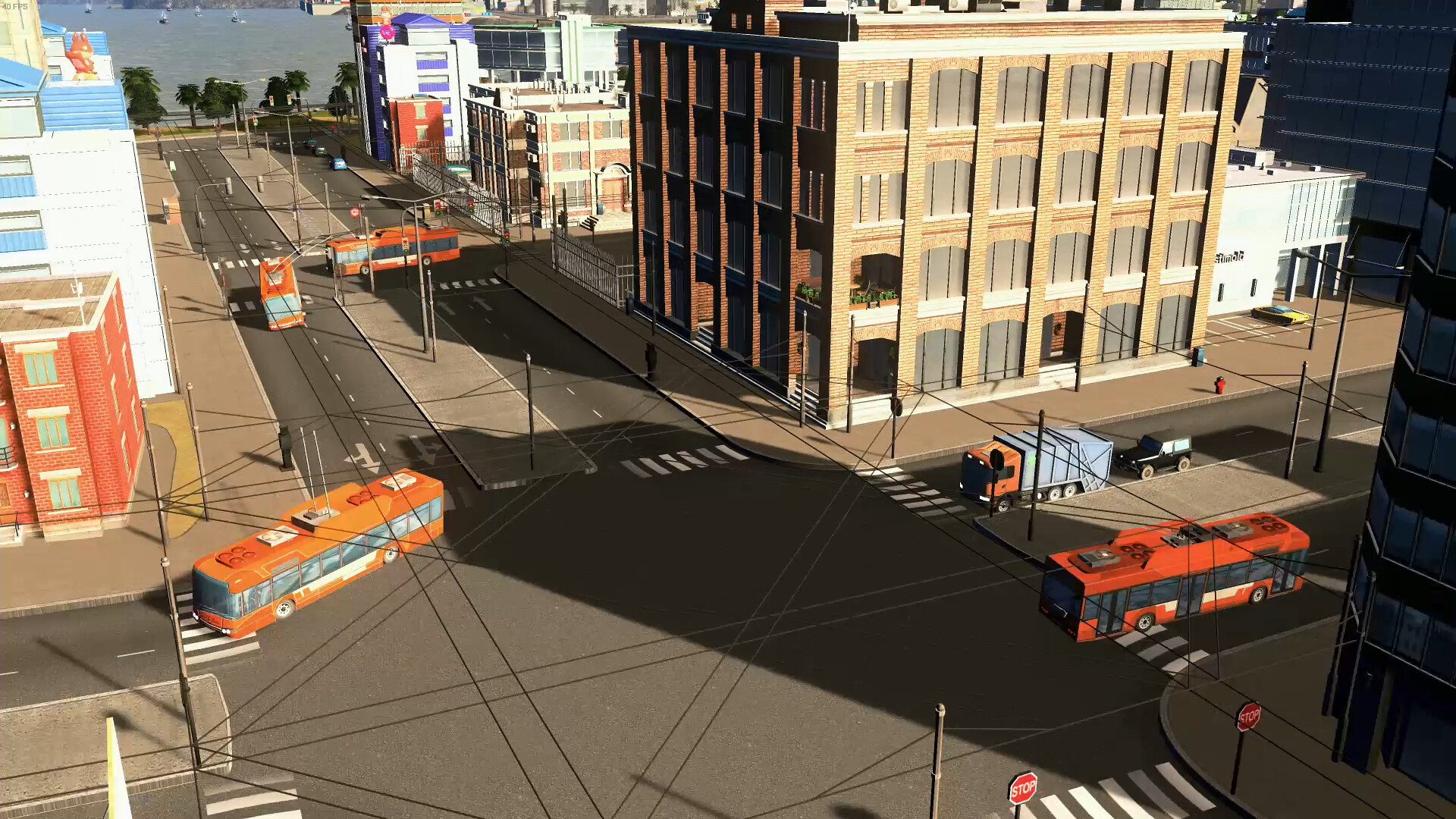 Cities: Skylines - Sunset Harbor on PS4