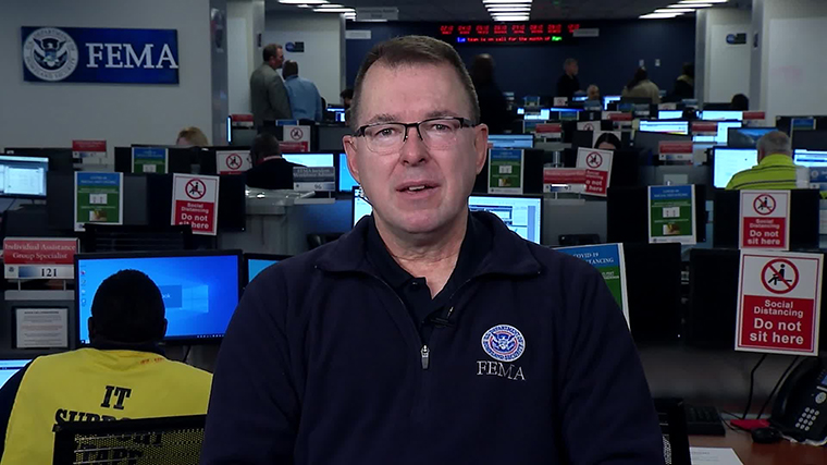 FEMA administrator Pete Gaynor