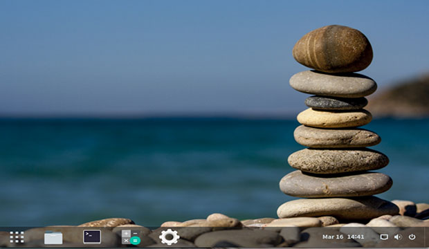 AryaLinux GNOME3 desktop