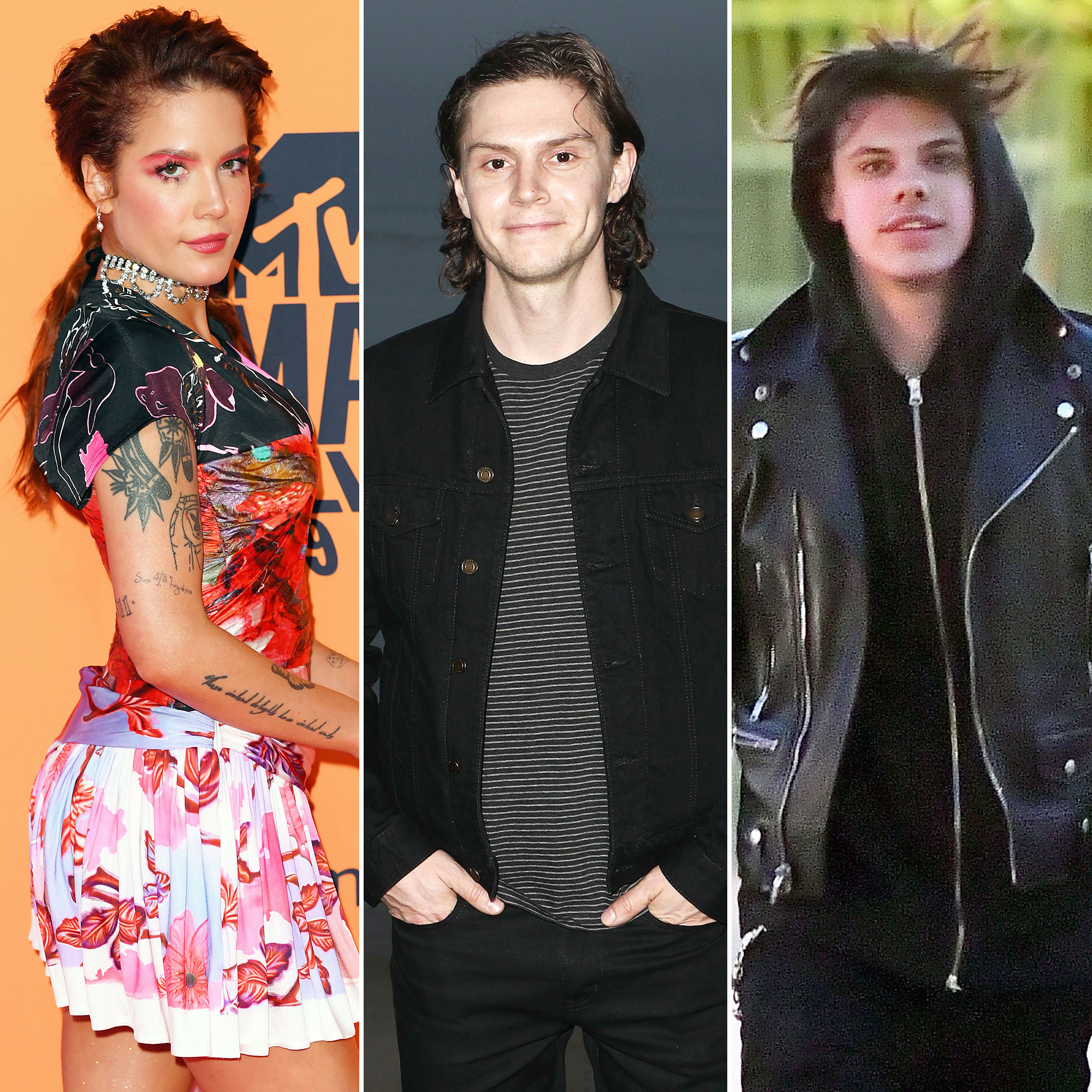 Fans Think Halsey and Evan Peters Broke Up After the Singer Dined With Ex-Boyfriend Yungblood