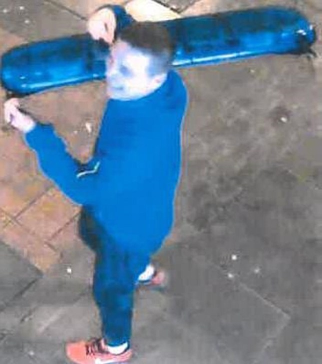 Undated handout photo issued by British Transport Police of David McBeth, 30, who has been jailed for 10 weeks at South Tyneside Magistrates' Court after he stole the blue lights from the top of a police car outside Sunderland station in December 2018. PA Photo. Issue date: Monday March 23, 2020. See PA story COURTS Lights. Photo credit should read: British Transport Police/PA Wire NOTE TO EDITORS: This handout photo may only be used in for editorial reporting purposes for the contemporaneous illustration of events, things or the people in the image or facts mentioned in the caption. Reuse of the picture may require further permission from the copyright holder.