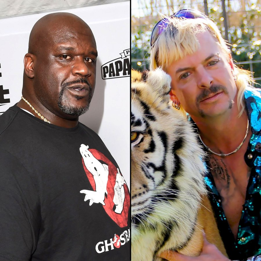 Shaquille ONeal Says Joe Exotic Isnt His Friend After Tiger King Cameo