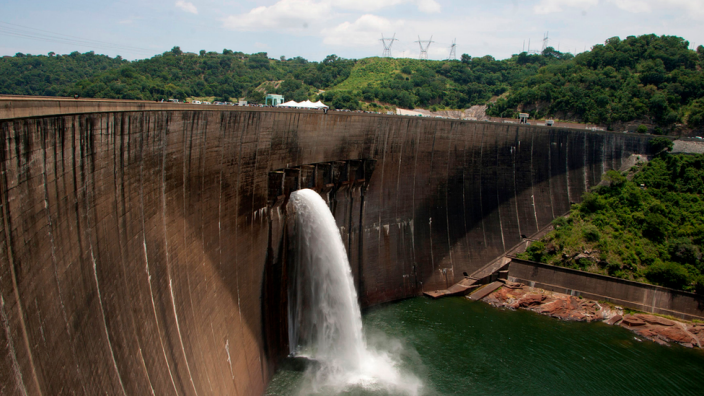Hydro facilities in Africa and Asia can significantly alter the landscape