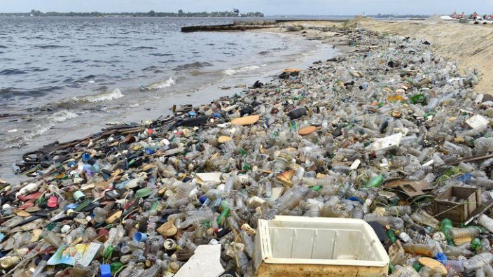 Plastic waste has a variety of detrimental effects on the environment