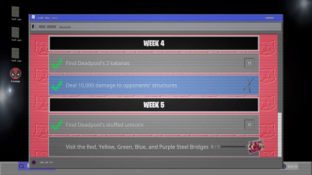 Fortnite Deadpool challenges