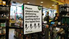 Whole Foods, like other grocers, is requiring all workers to wear masks. It has not extended that policy to customers.