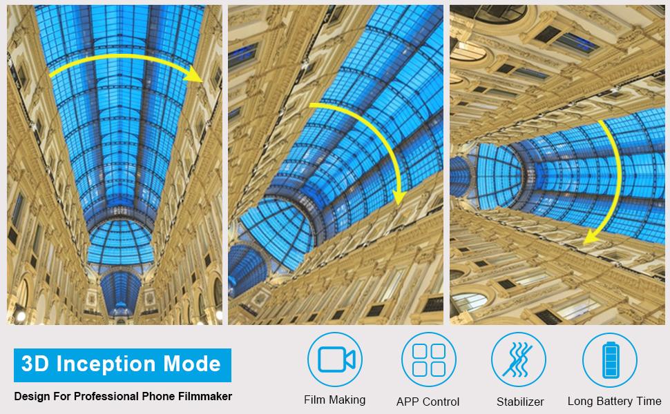 3D inception mode