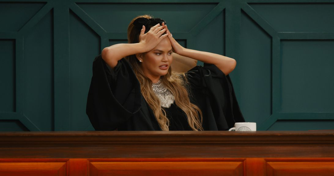 Chrissy Teigen in Quibi's reality show Chrissy's Court