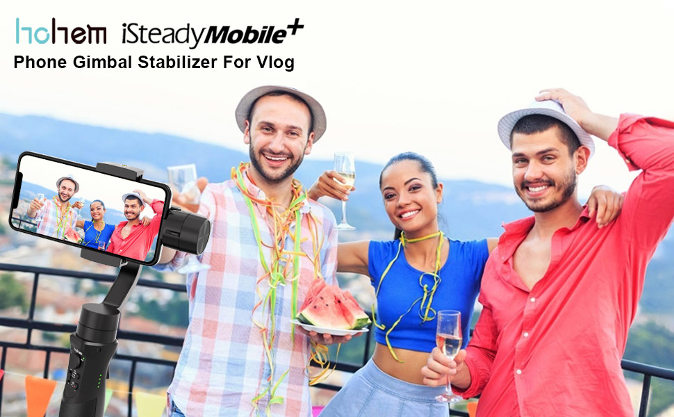 Phone Gimbal Stabilizer For Vlog