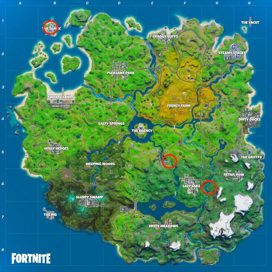 Fortnite shark map