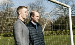 Joe Hart has been enjoying the simple pleasures of life away from the bench while supporting Prince William's mental health campaign.