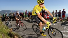 Chris Froome is a four-time winner of the prestigious Tour de France.