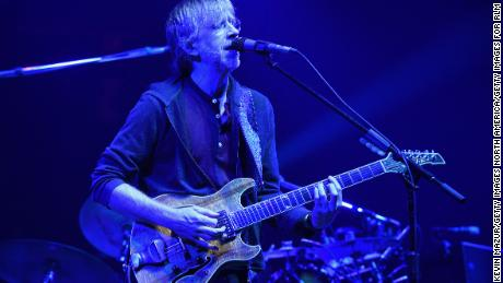 Trey Anastasio of Phish performs onstage at NYCB Live's Nassau Coliseum in 2019