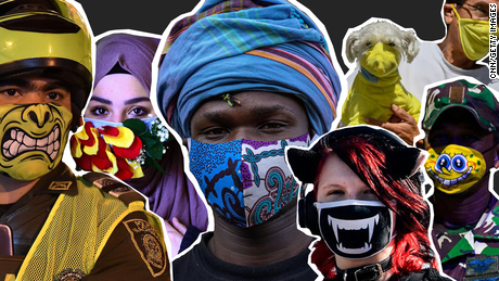 In 2020, masks aren't just for protection -- they're being used to make a statement